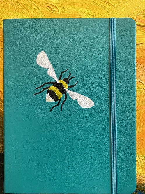 Green Honey Bee Bullet Journal