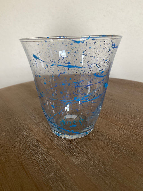 Painted Glass Cup #8