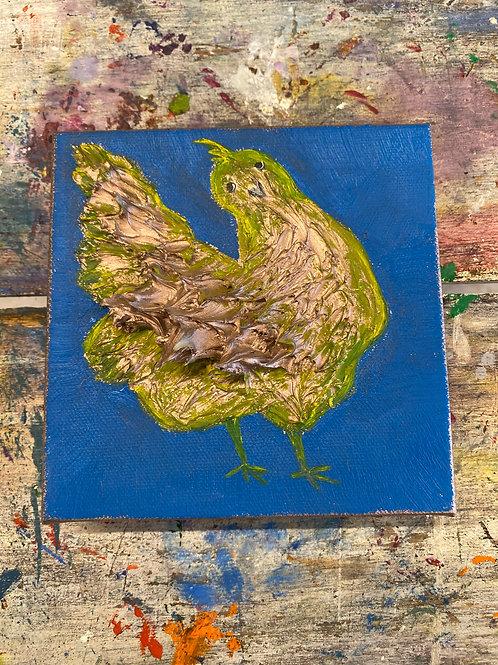 Mini Chicken Canvas #4