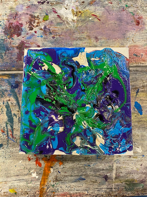 Abstract Mini Canvas #10