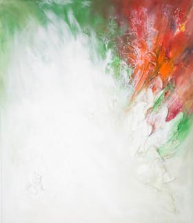 Bob Silently Screaming 55x48 Oil on Canvas