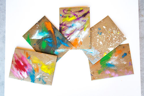 Hand Painted Envelopes #18