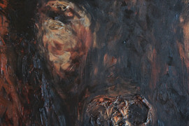 The Stance 72x96 Oil on Canvas
