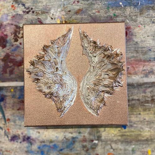 Mini Angel Wing Canvas #2