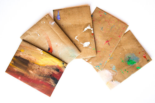 Hand Painted Envelopes #7