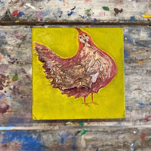 Mini Chicken Canvas #1