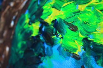 Comanche, TX 48x60 Oil on Canvas