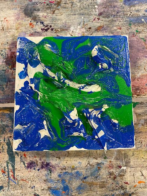 Abstract Mini Canvas #12