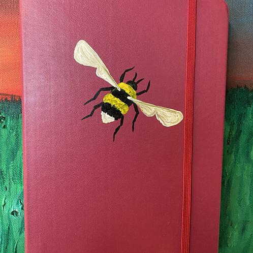 Pink Honey Bee Bullet Journal