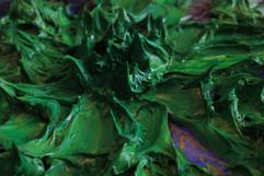 Green 48x30 Mixed Media