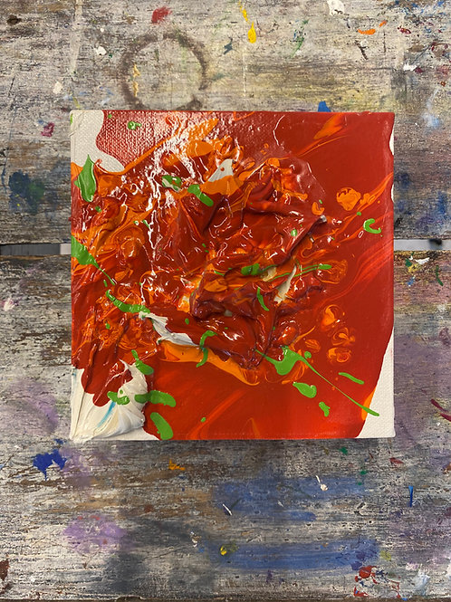 Abstract Mini Canvas #17