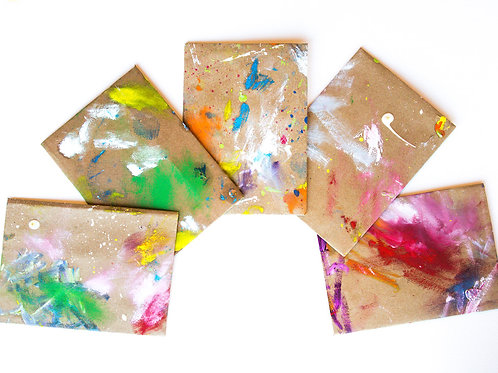 Hand Painted Envelopes #11