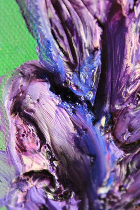 Lavender 36x36 Oil on Canvas