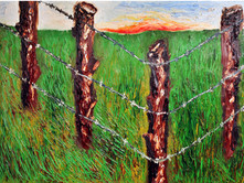 The Ranch 36x48 Oil on Canvas