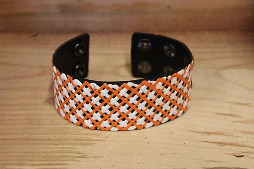 Painted Leather Bracelet #46