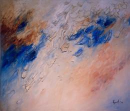 Ocean 48x55 Oil on Canvas