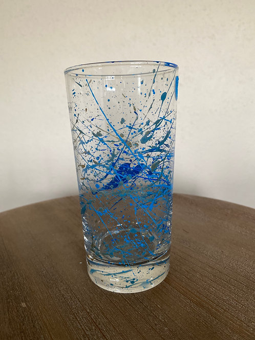 Painted Glass Cup #2