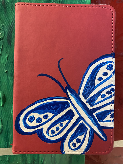 Small Butterfly Pink Journal