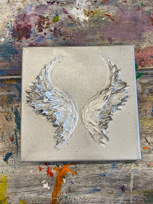 Mini Angel Wing Canvas #4