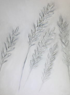 White Lavender 40x30 Oil on Canvas