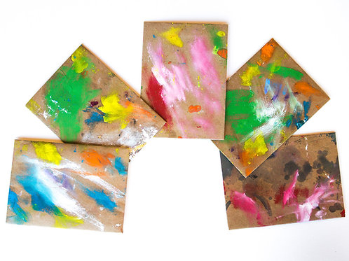 Hand Painted Envelopes #12