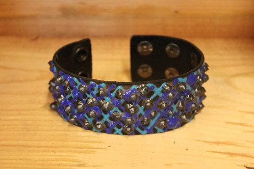 Painted Leather Bracelets #44