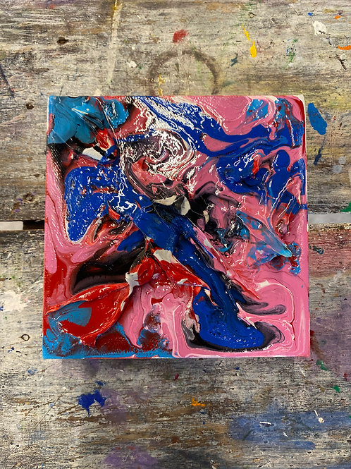 Abstract Mini Canvas #18