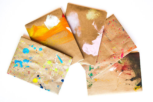 Hand Painted Envelopes #3