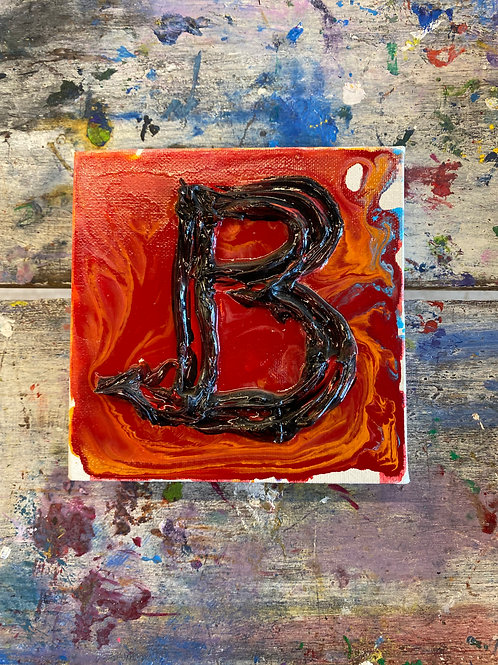 Mini Letter B Canvas