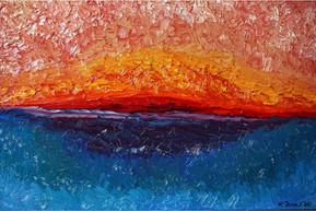 Sunset 24x36 Oil on Canvas