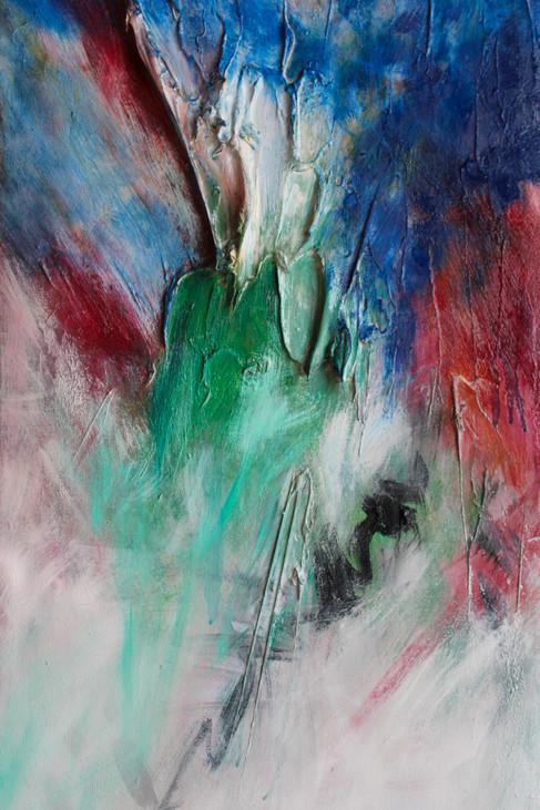 HSW II 48x18 Oil on Canvas