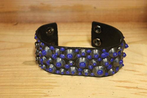 Painted Leather Bracelet #60