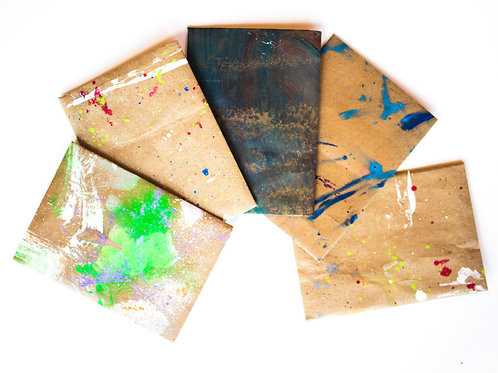 Hand Painted Envelopes #4