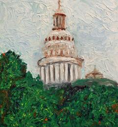 Capital 24x24 Oil on Canvas