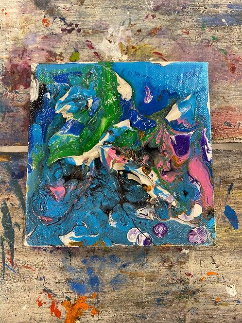 Abstract Mini Canvas #11