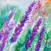Lavender 36x36