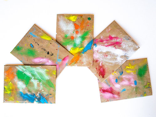 Hand Painted Envelopes #9
