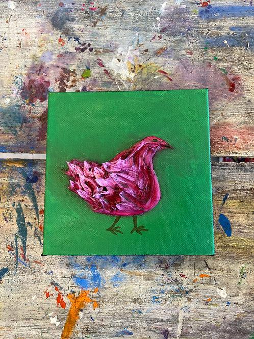 Mini Chicken Canvas #2