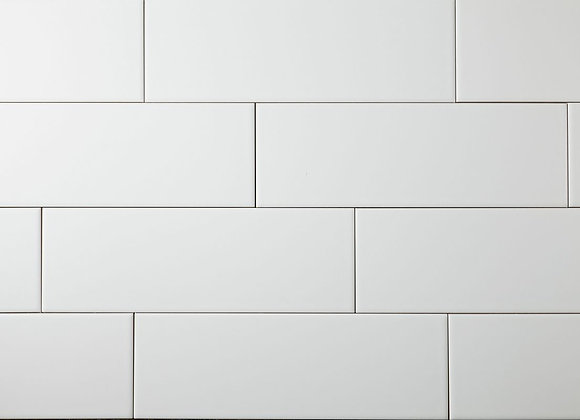 White Wall Tile 100x300mm