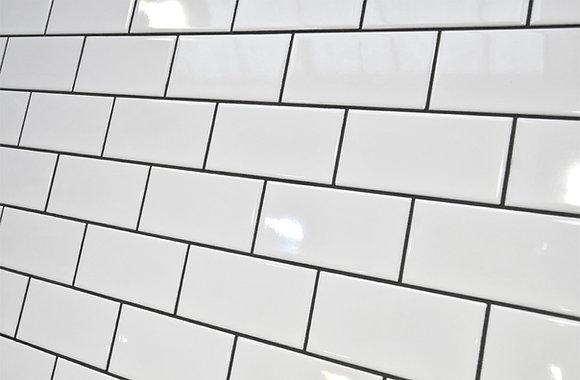 White Wall Tile 75x150mm