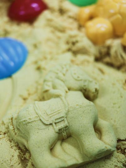 Sand play