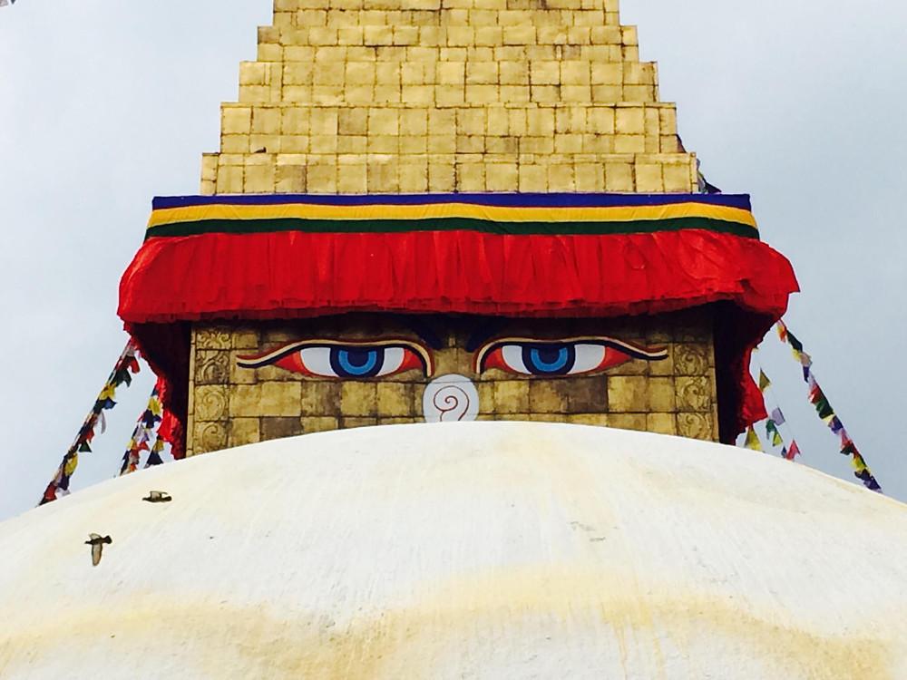 Buddhovy oči střeží každý váš krok