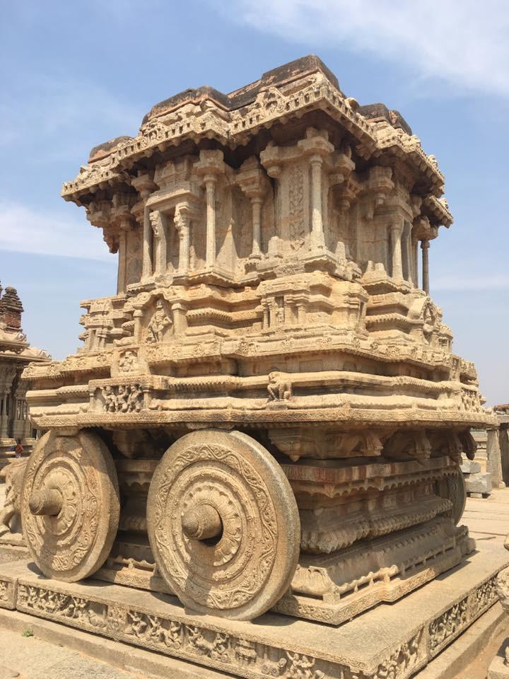 Stone Car v Hampi