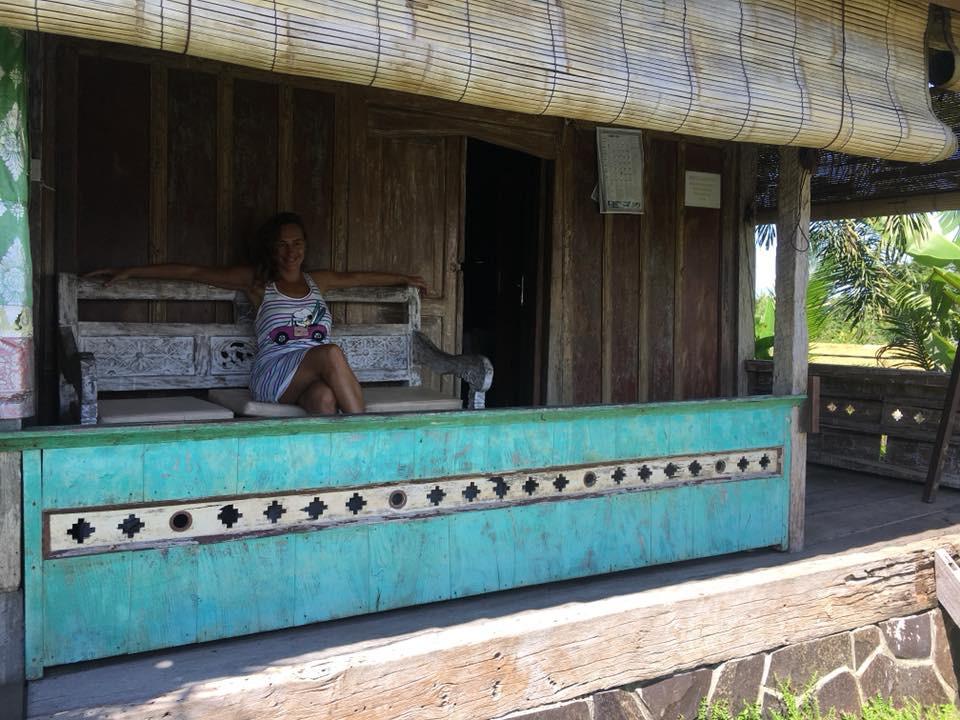 Posezení na verandě a sladké nic nedělání