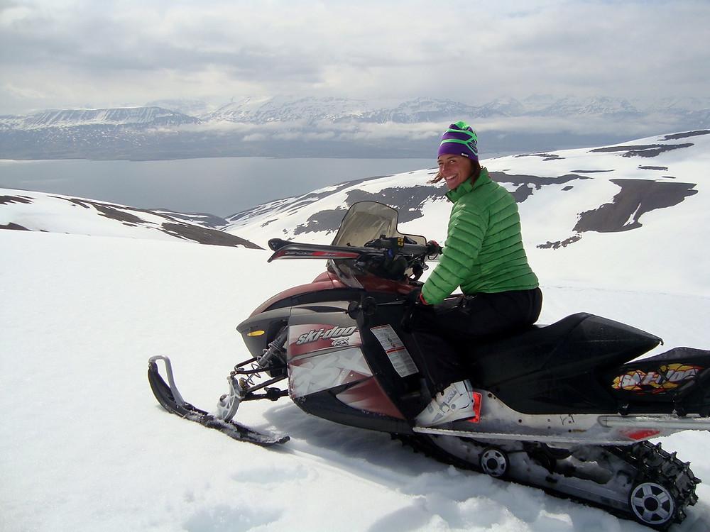 Islandská panoramata a lyžařská pochoutka