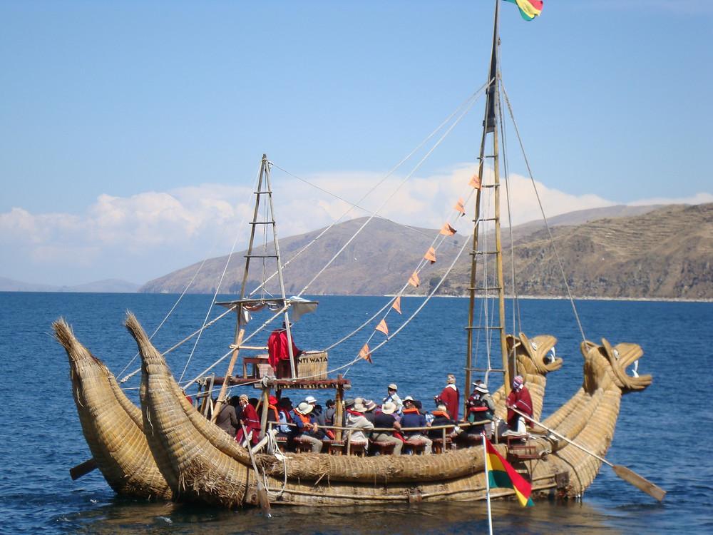 Sluneční ostrov potomků Inků