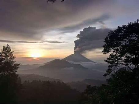 Mount Agung - aktuálně je stále nevyzpytatelný