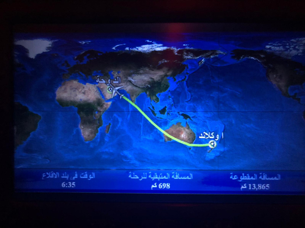 Let Auckland - Doha