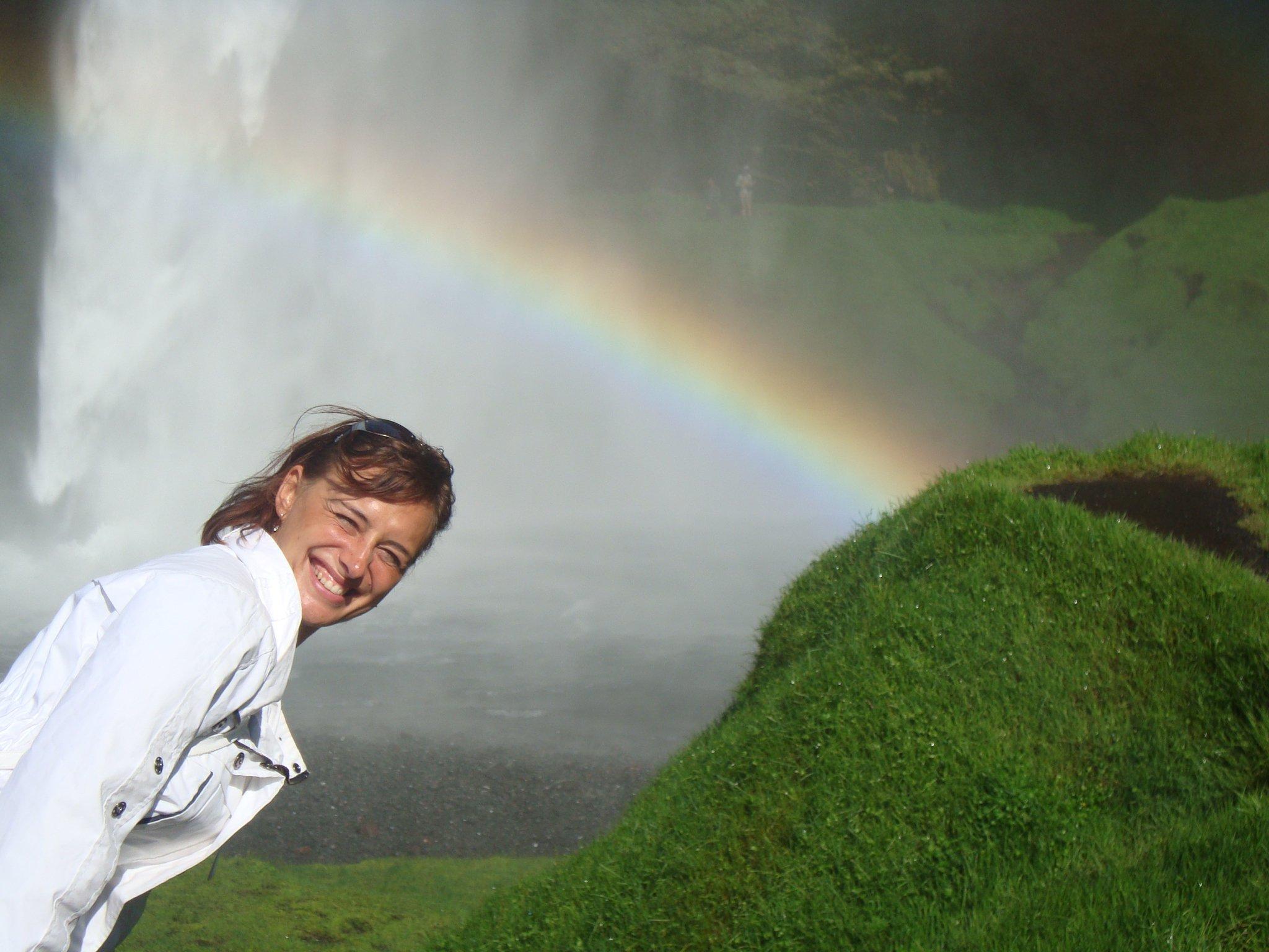 duha na Islandu