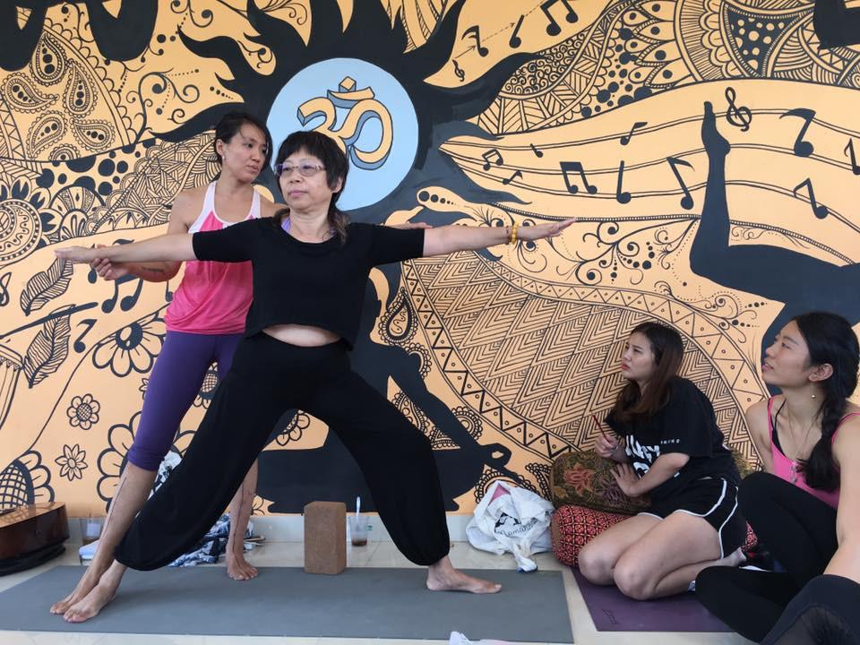 čínská jogínka - vzor pro všechny generačně starší